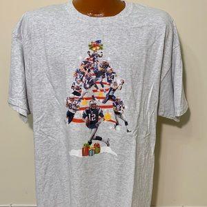 New England Patriots Tom Brady Christmas T-shirt